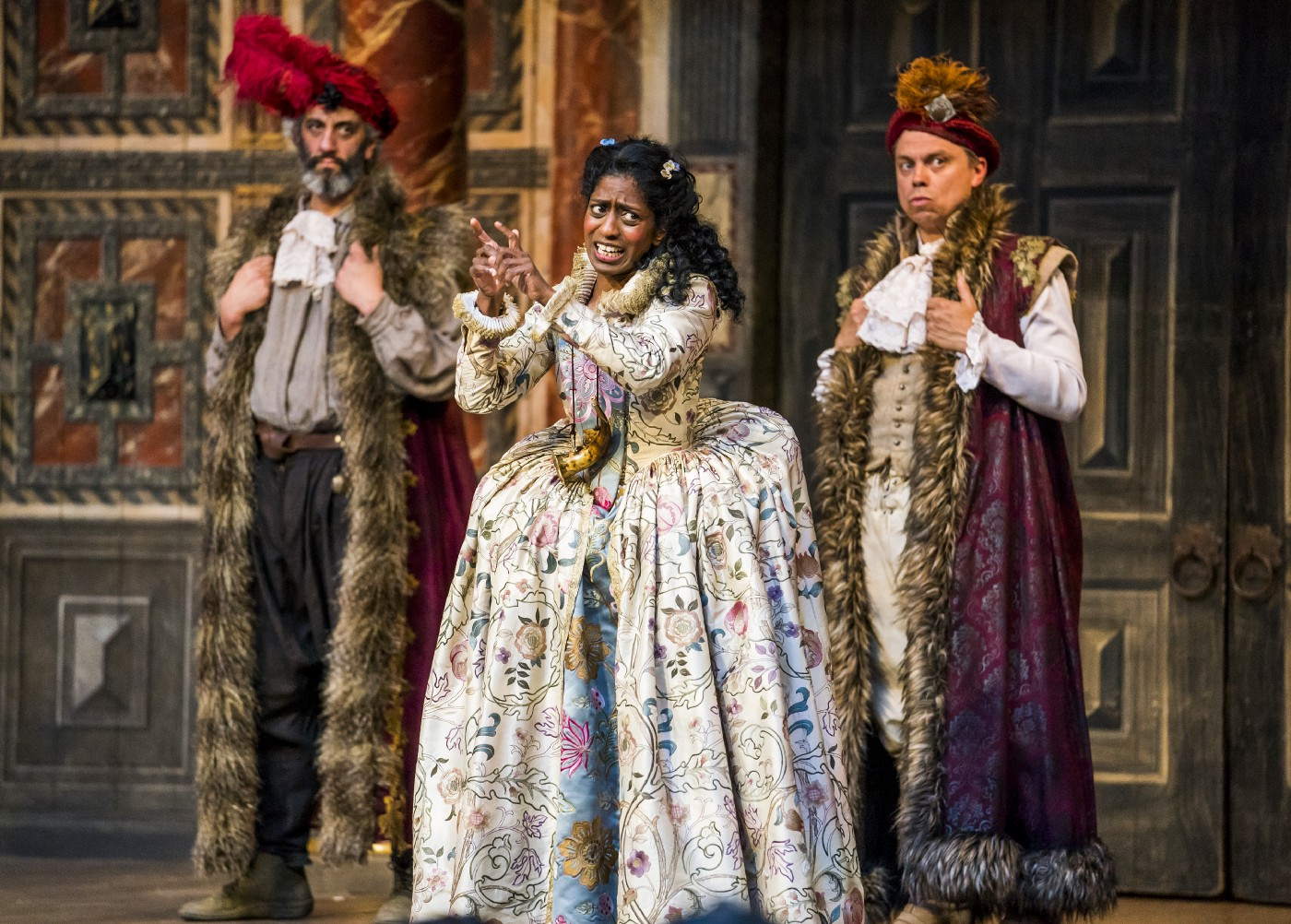 Richard, Nadia, James in As You Like It