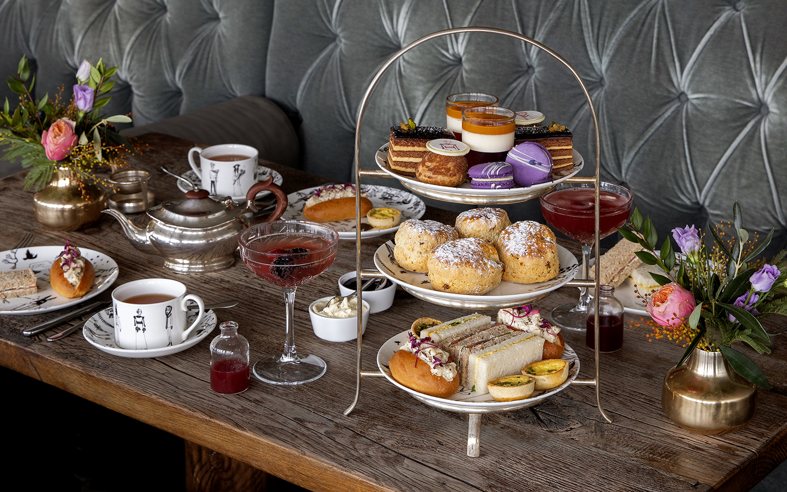 Photo of Afternoon tea at Swan Restaurant