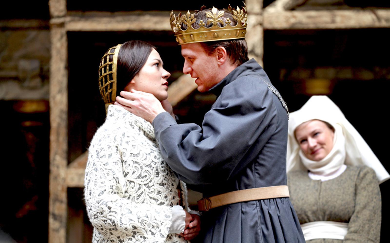 Katherine & Henry V NO CAPTION