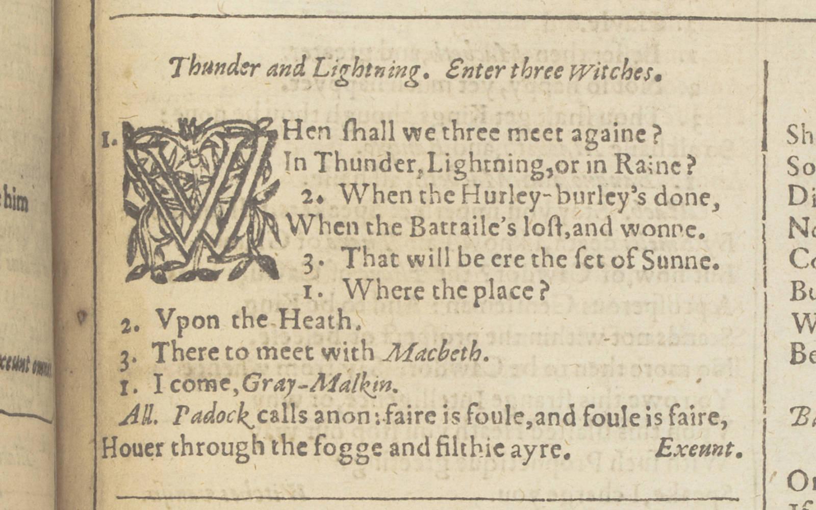 Mr. William Shakespeare's Comedies, Histories, & Tragedies, 1623