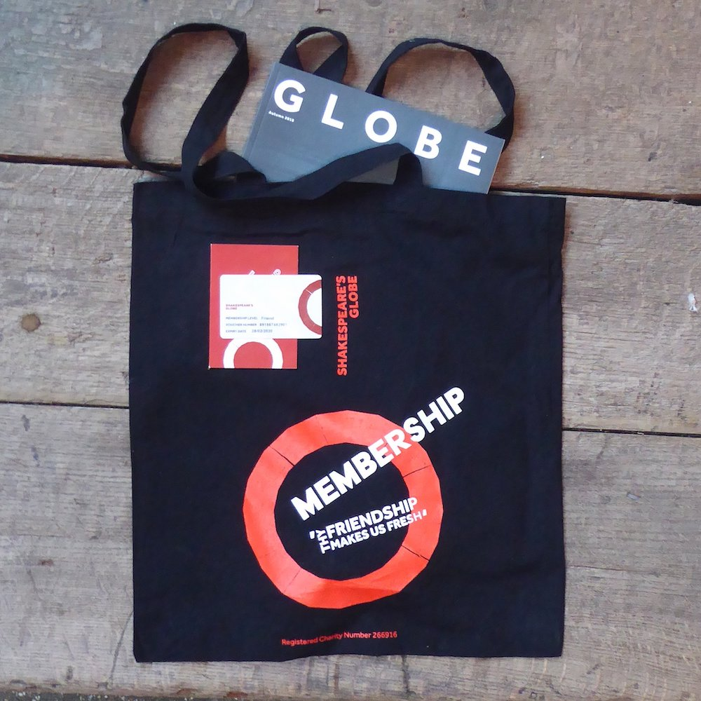 An image of a bag with the word membership on it